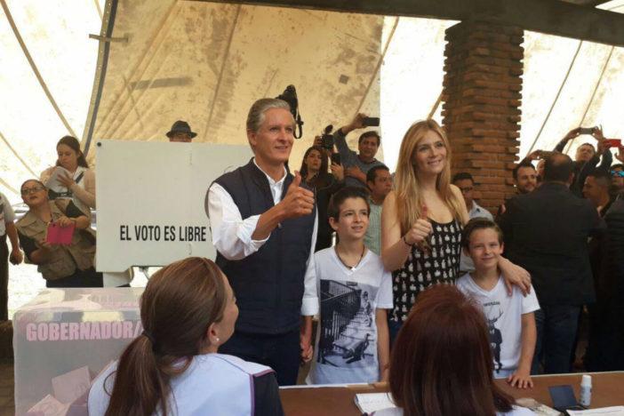 Alfredo del Mazo quiere que hoy sea una fiesta para la democracia   El Imparcial de Oaxaca
