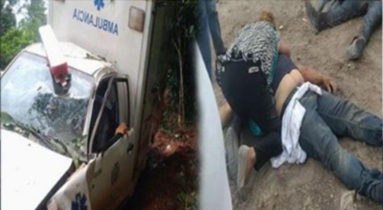 Ambulancia cae a un barranco con una mujer dando a luz | El Imparcial de Oaxaca