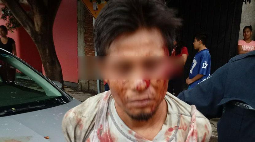 Vecinos exhiben a detenidos por robo en el fraccionamiento San José La Noria   El Imparcial de Oaxaca