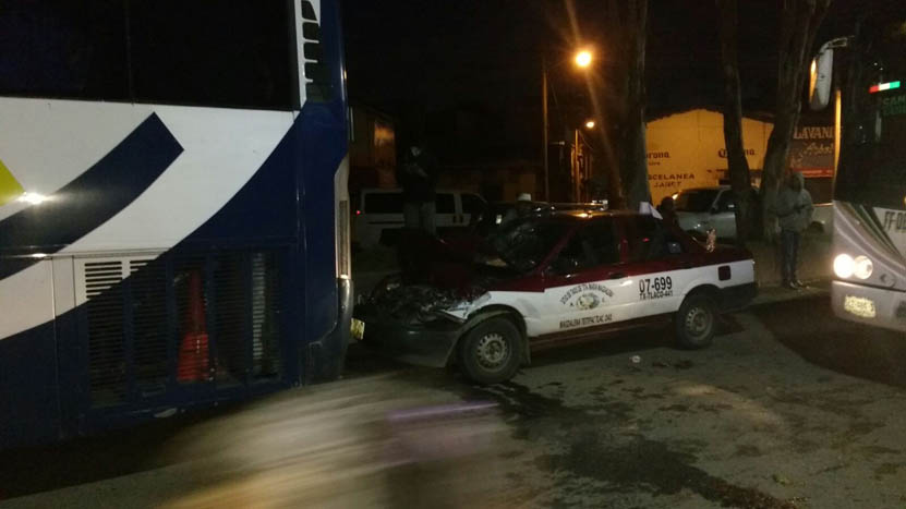 Choque en Riberas | El Imparcial de Oaxaca