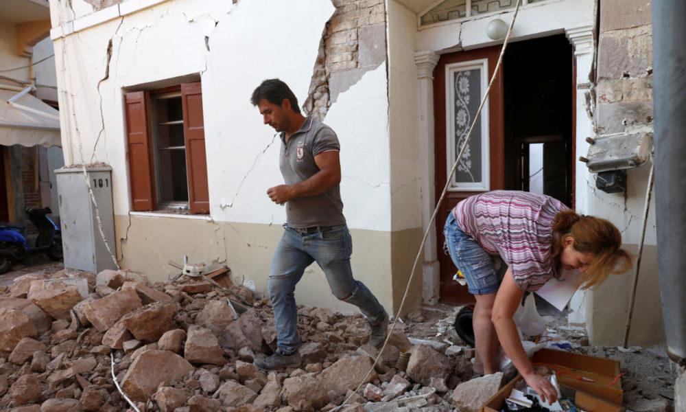 Terremoto en la isla de Lesbos deja a una persona muerta | El Imparcial de Oaxaca