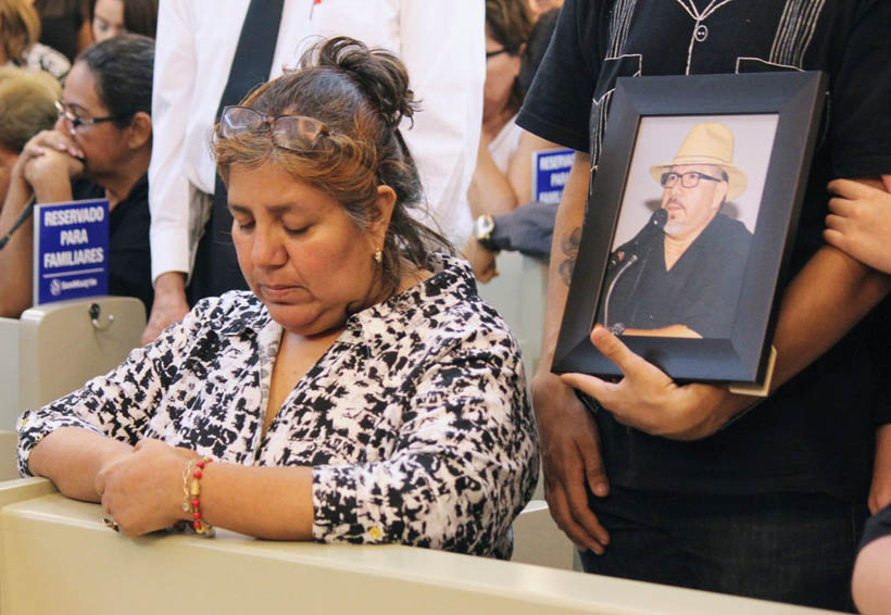 En México la muerte de un periodista importa poco: viuda de Javier Valdez | El Imparcial de Oaxaca