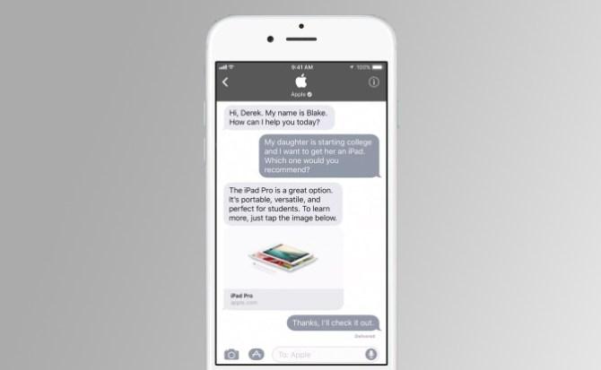 Lo próximo de Apple es que uses el iPhone para chatear con las tiendas   El Imparcial de Oaxaca
