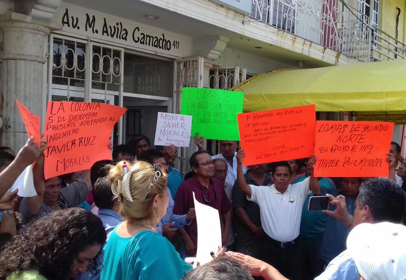 Comités rechazan la salida  del administrador del SAP en el Istmo   El Imparcial de Oaxaca