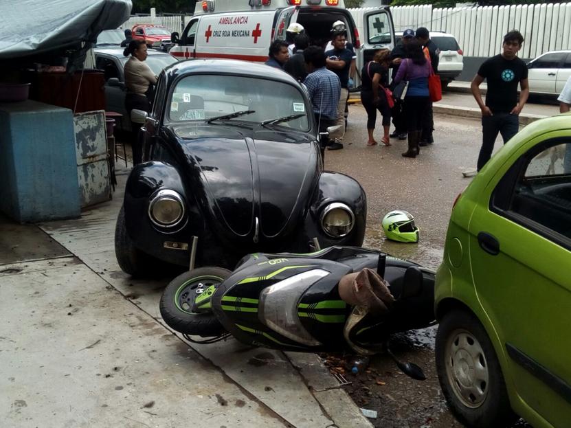 ¡Carambola en la carretera al Panteón Jardín ! | El Imparcial de Oaxaca