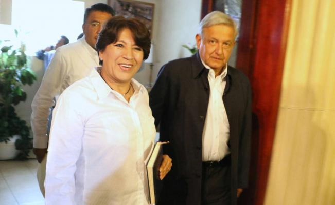 Afirma AMLO que defenderá el triunfo de Delfina   El Imparcial de Oaxaca