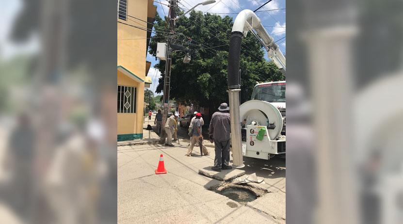 Avances significativos  de limpieza con el vactor | El Imparcial de Oaxaca