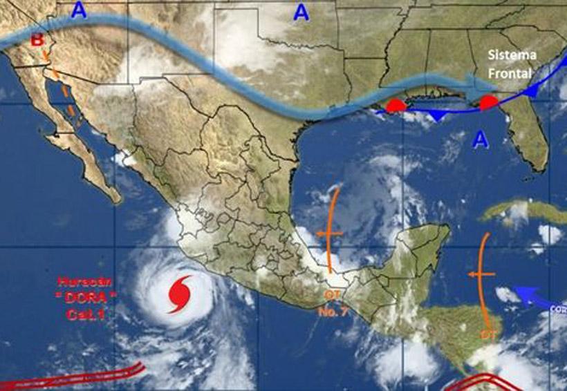 'Dora' se convierte en huracán frente a Colima y Jalisco | El Imparcial de Oaxaca