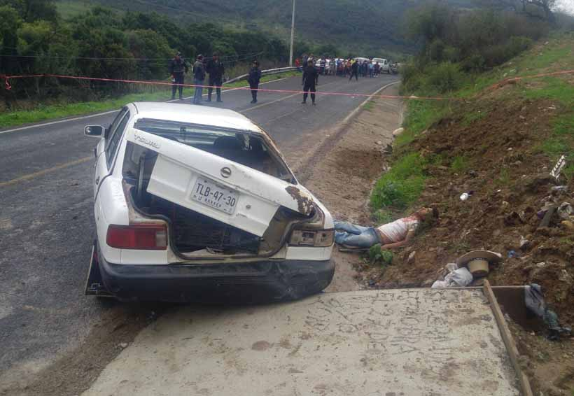 Accidente mortal en la carretera de Juxtlahuaca | El Imparcial de Oaxaca
