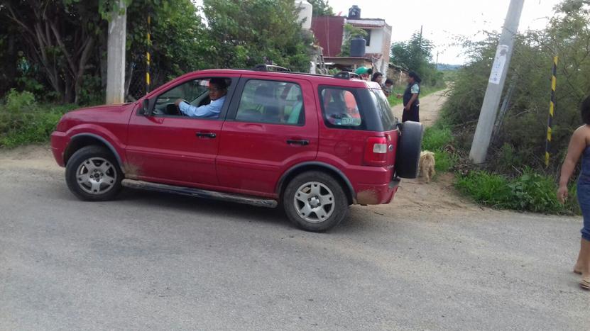 Impacta camioneta  a un motociclista en San Pablo Huitzo | El Imparcial de Oaxaca