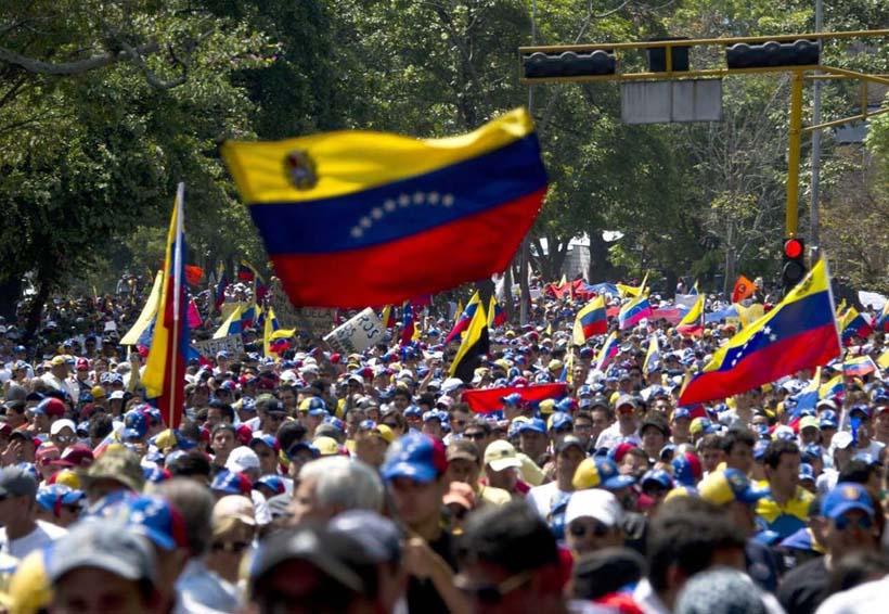 Marcha opositora en Venezuela exige el cese de la violencia | El Imparcial de Oaxaca