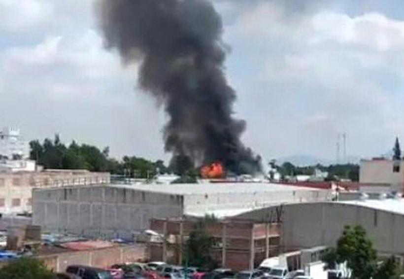 Reportan incendió de dos fábricas en ciudad de México   El Imparcial de Oaxaca