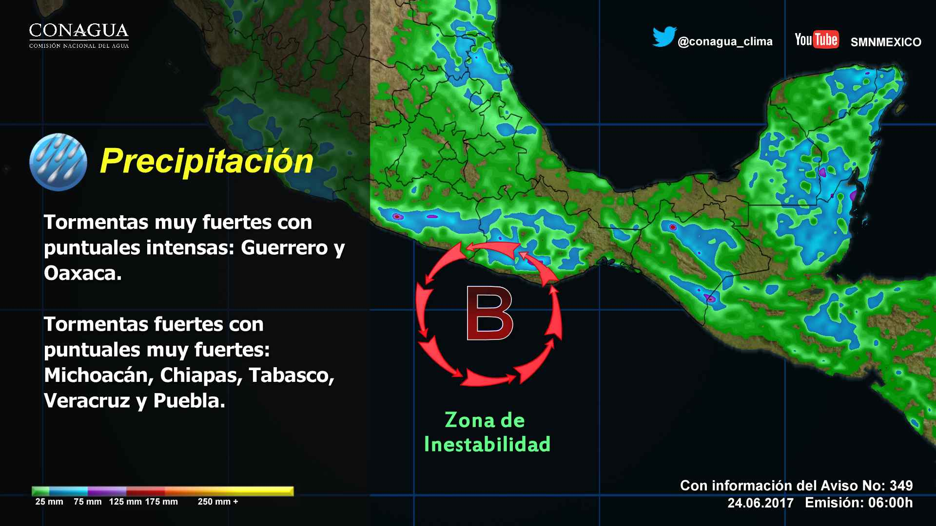 Aumenta a 90% la probabilidad de desarrollo ciclónico | El Imparcial de Oaxaca