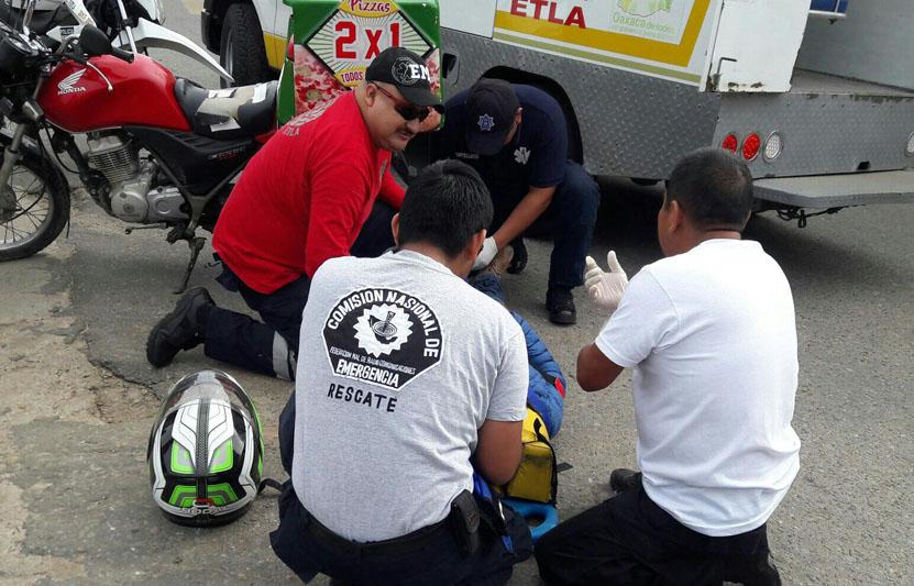 En  Etla y San Juan Chapultepec derrapan motociclistas; uno conducía ebrio | El Imparcial de Oaxaca