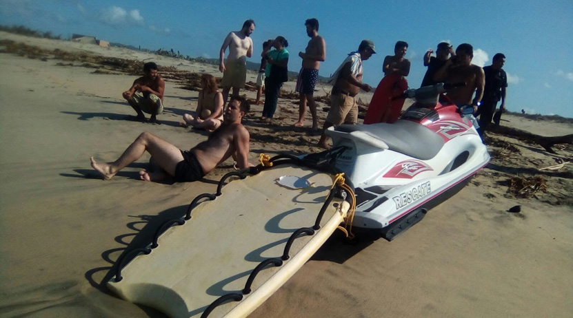 Rescatan a extranjero en Puerto Escondido | El Imparcial de Oaxaca