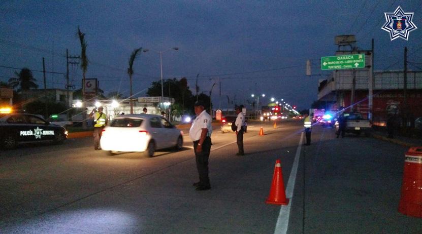Detienen a 19 conductores  en operativo alcoholímetro   El Imparcial de Oaxaca