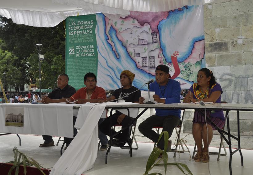 Cuestionan beneficios de Zonas Económicas   El Imparcial de Oaxaca
