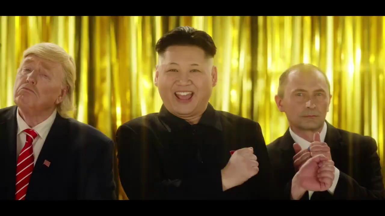 """Video: """"Trump"""", """"Putin"""" y """"Joung-un"""" interpretan un anuncio publicitario en Hong Kong   El Imparcial de Oaxaca"""