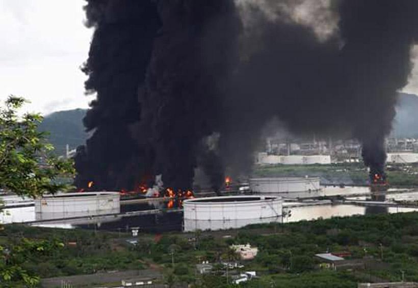 Incendio en refinería de Salina Cruz deja heridos y dos desaparecidos | El Imparcial de Oaxaca