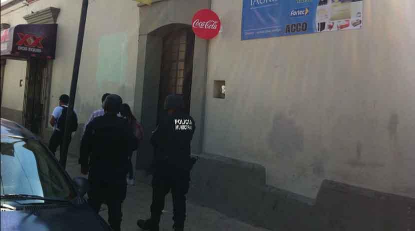 Saquean negocio en el Centro Histórico   El Imparcial de Oaxaca