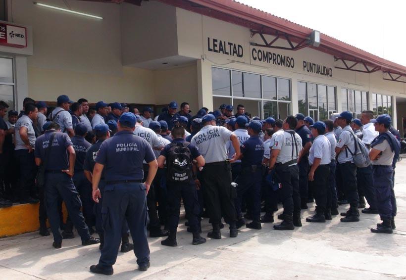 Policías de Juchitán se van a paro | El Imparcial de Oaxaca