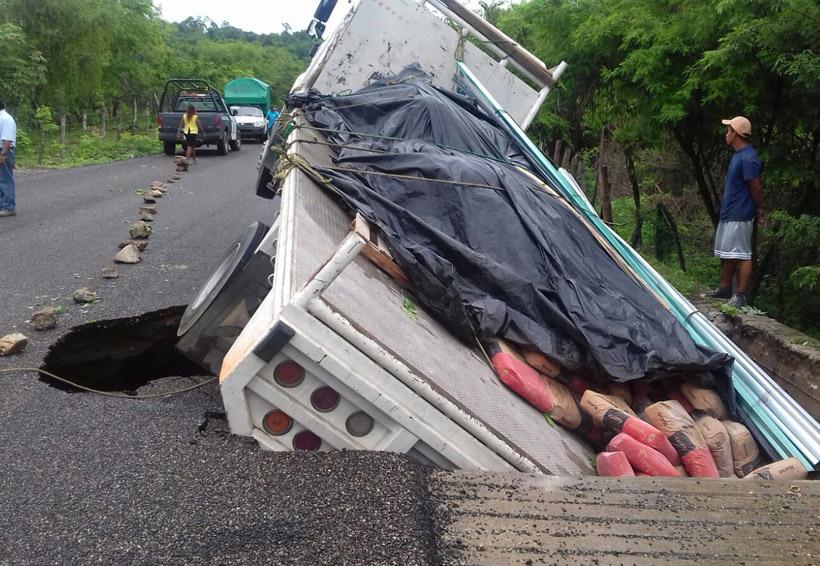 Calvin arrasa con las carreteras del Istmo y la Costa   El Imparcial de Oaxaca