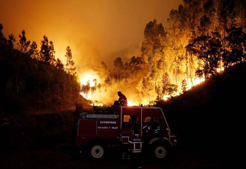 Aumenta a 62 el número de muertos por incendio forestal en Portugal | El Imparcial de Oaxaca