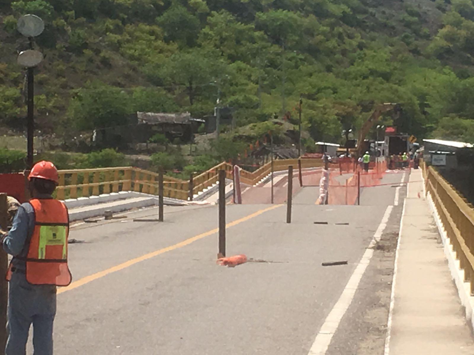 Reparan puente Tequisistlán; tardará al menos dos meses | El Imparcial de Oaxaca