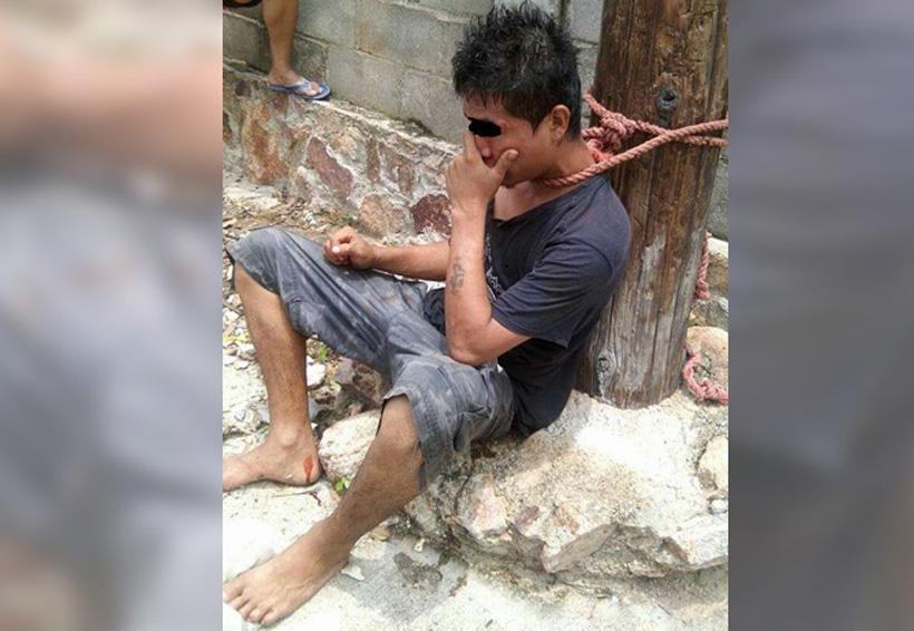 Dan escarmiento a joven acusado de robo | El Imparcial de Oaxaca