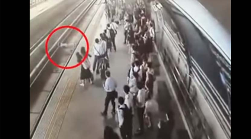 Video: Un tren arrolla a una mujer embarazada que se cayó en las vías   El Imparcial de Oaxaca