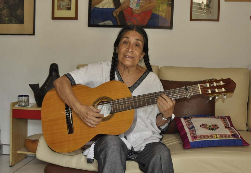 Silvia María: quisiera agarrar a Oaxaca y tenerla aquí, dentro | El Imparcial de Oaxaca