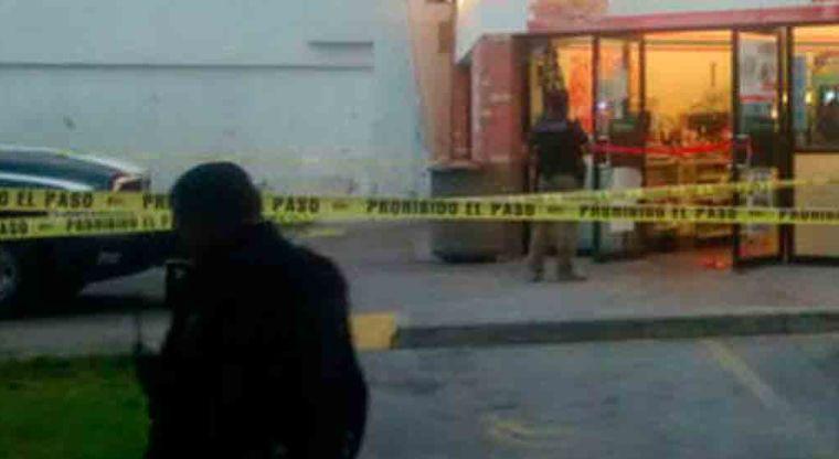 Hombre es herido en el pecho tras asalto a tienda | El Imparcial de Oaxaca