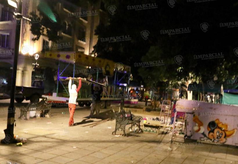Siempre no habrá feria en el zócalo capitalino   El Imparcial de Oaxaca