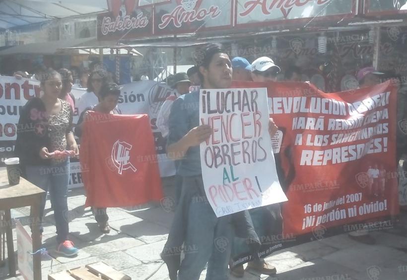 Marcha sección 22 del Fortín Plaza al Zócalo | El Imparcial de Oaxaca
