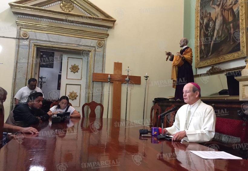 El Arzobispo de Antequera hace un llamado al diálogo | El Imparcial de Oaxaca