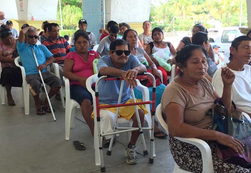 Credencialización para personas discapacitadas en la Cuenca | El Imparcial de Oaxaca