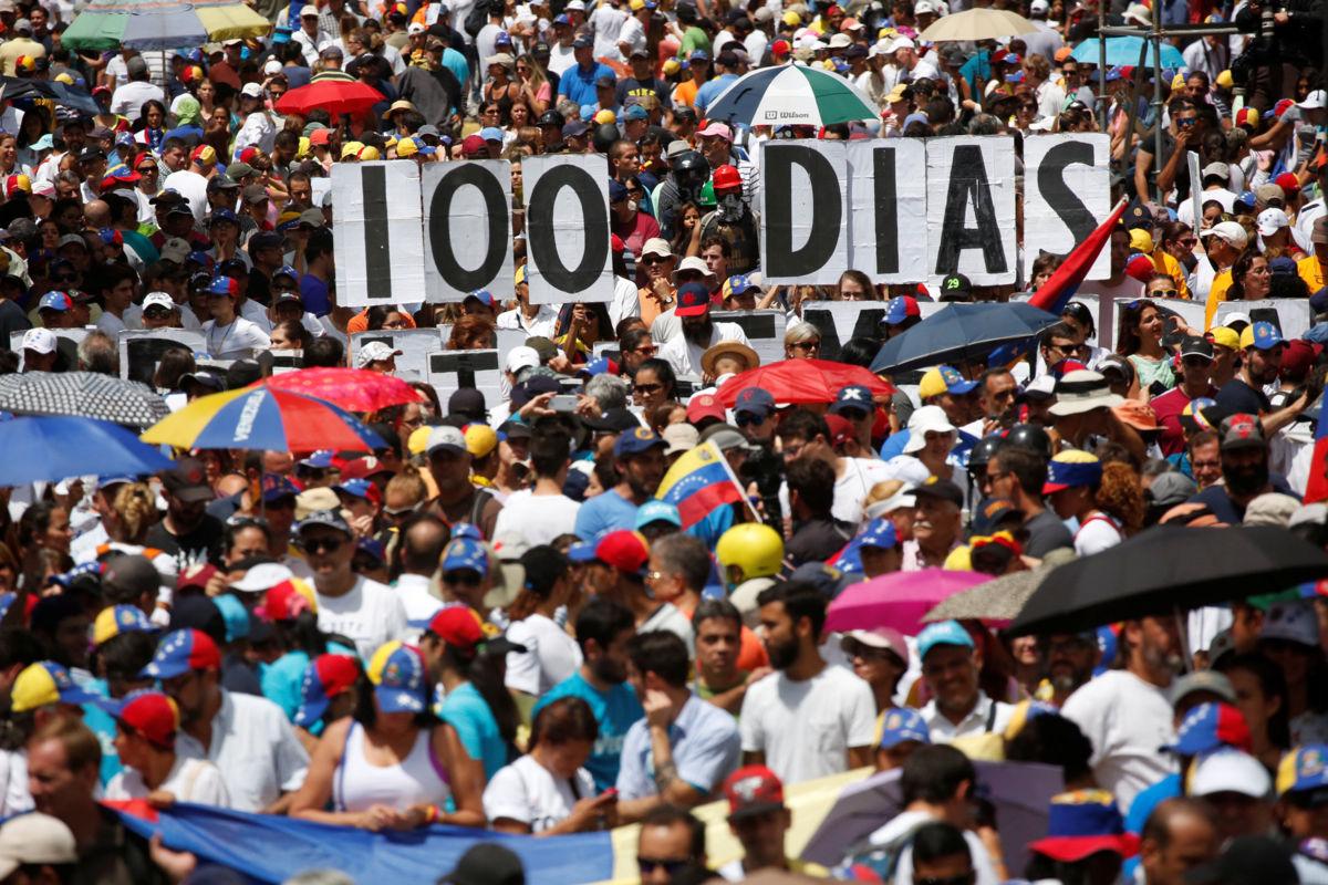 Venezuela cumple 100 días de protestas | El Imparcial de Oaxaca
