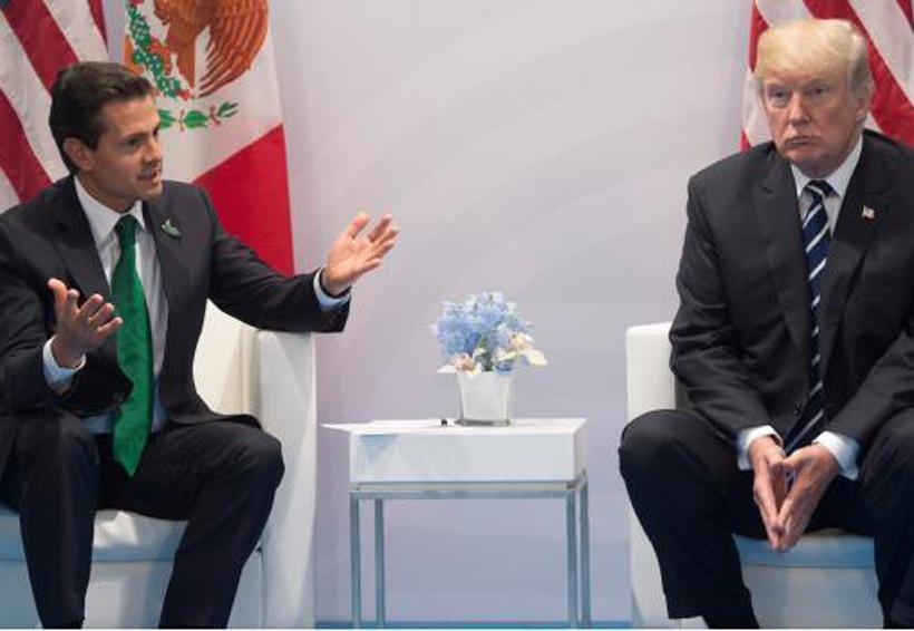 Acordamos dejar atrás diferencias sobre pago del muro: EPN sobre Trump | El Imparcial de Oaxaca