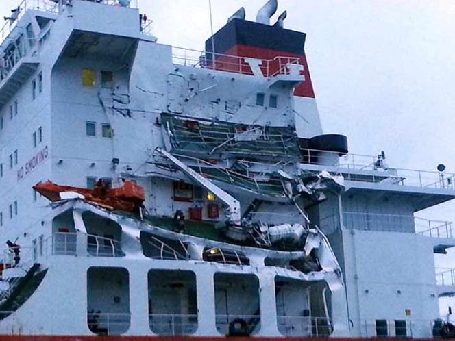 Saldo blanco por choque de dos barcos en el Canal de la Mancha   El Imparcial de Oaxaca