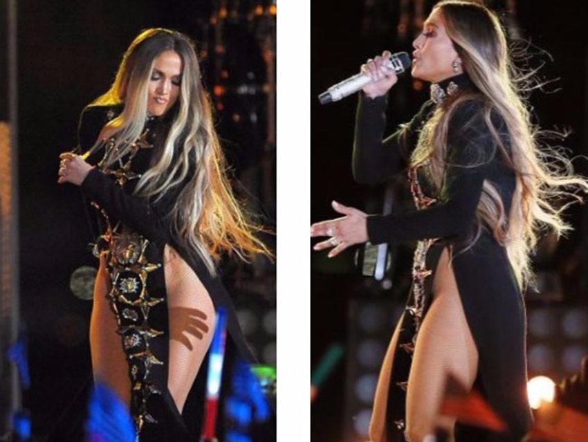 Jennifer Lopez canta sin ropa interior en Nueva York | El Imparcial de Oaxaca
