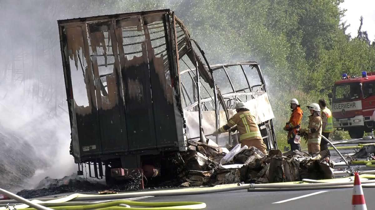 Accidente de tránsito en Alemania deja 18 muertos | El Imparcial de Oaxaca