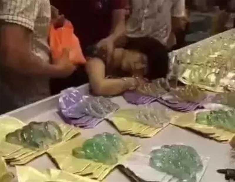 Video: Rompe joya de 800 mil pesos por accidente y se desmaya de la impresión   El Imparcial de Oaxaca