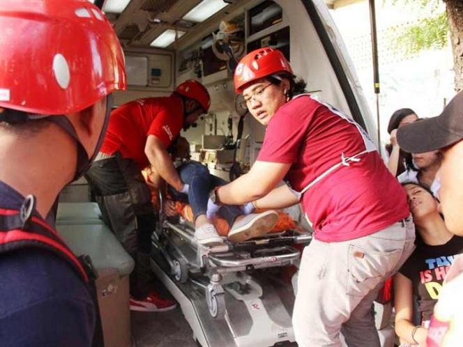 Dos muertos y 50 heridos en simso de 6.5 grados en Filipinas   El Imparcial de Oaxaca