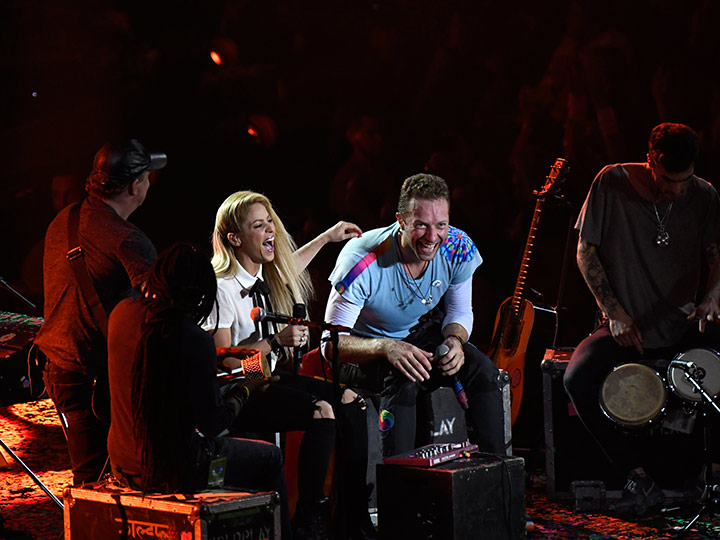 Shakira y Chris Martin cantan en español en cumbre del G20   El Imparcial de Oaxaca