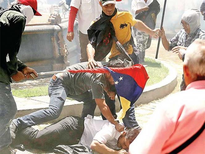 Asalto a la asamblea venezolana fue acto terrorista, denuncia legislador | El Imparcial de Oaxaca