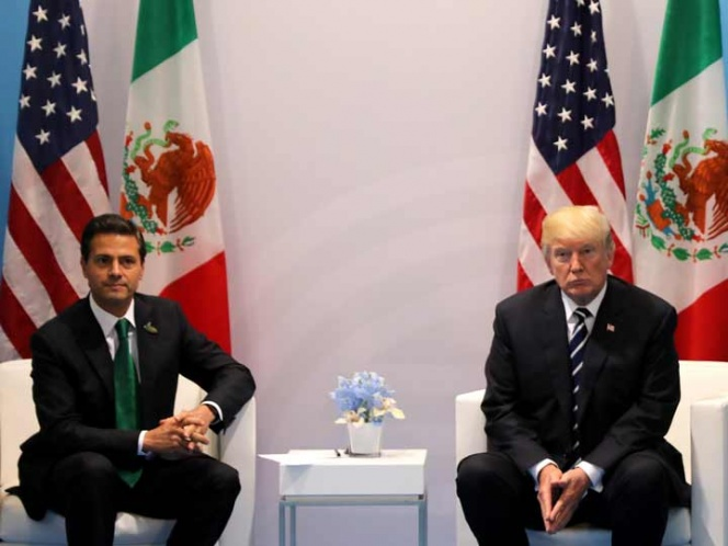 Preguntan a Trump si México pagará muro, responde ¡Absolutamente! | El Imparcial de Oaxaca