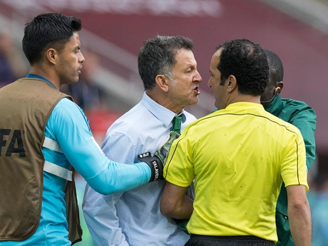 Osorio es suspendido seis partidos por insultar a árbitros | El Imparcial de Oaxaca