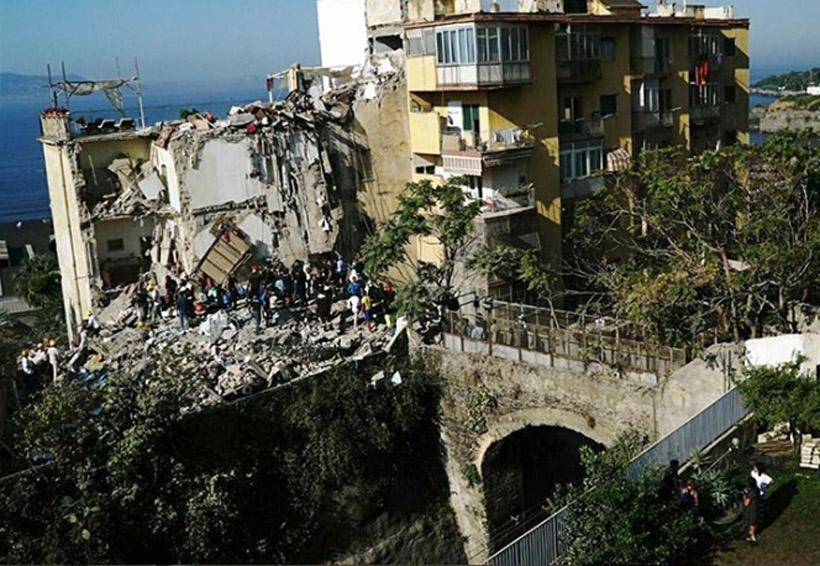Se derrumba edificio en Italia; buscan sobrevivientes   El Imparcial de Oaxaca