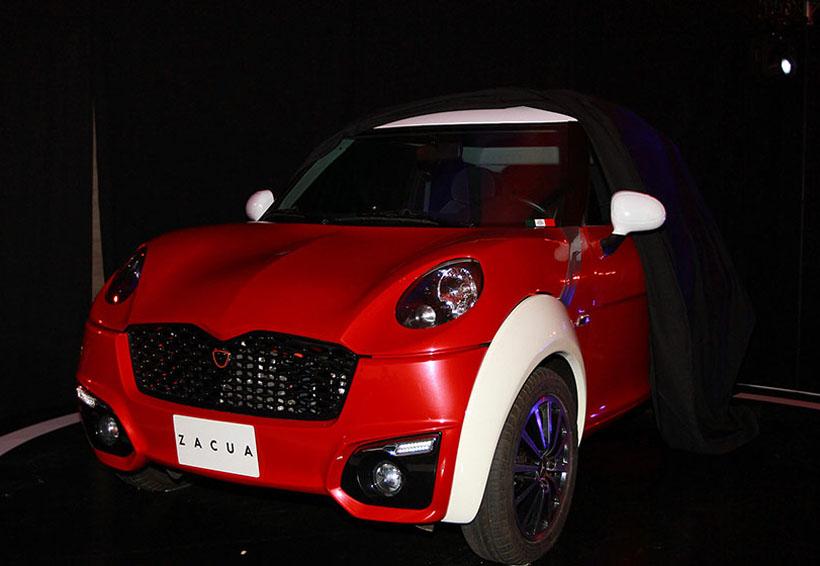 Develan Zacua, el primer auto eléctrico 100 por ciento mexicano | El Imparcial de Oaxaca