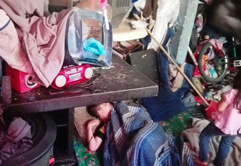 Rescatan a cuatro niños que viven entre la basura en la CDMX | El Imparcial de Oaxaca